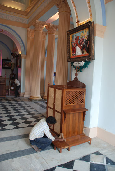 Restoration of the Church Our Lady of Angels in Pondicherry