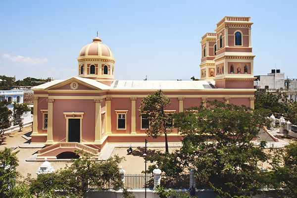 The Church of Our Lady of Angels Pondicherry India